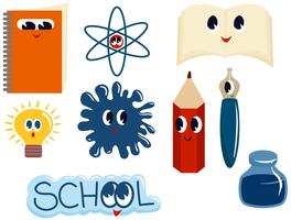 School Characters Vectors