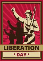 Liberation Day vector