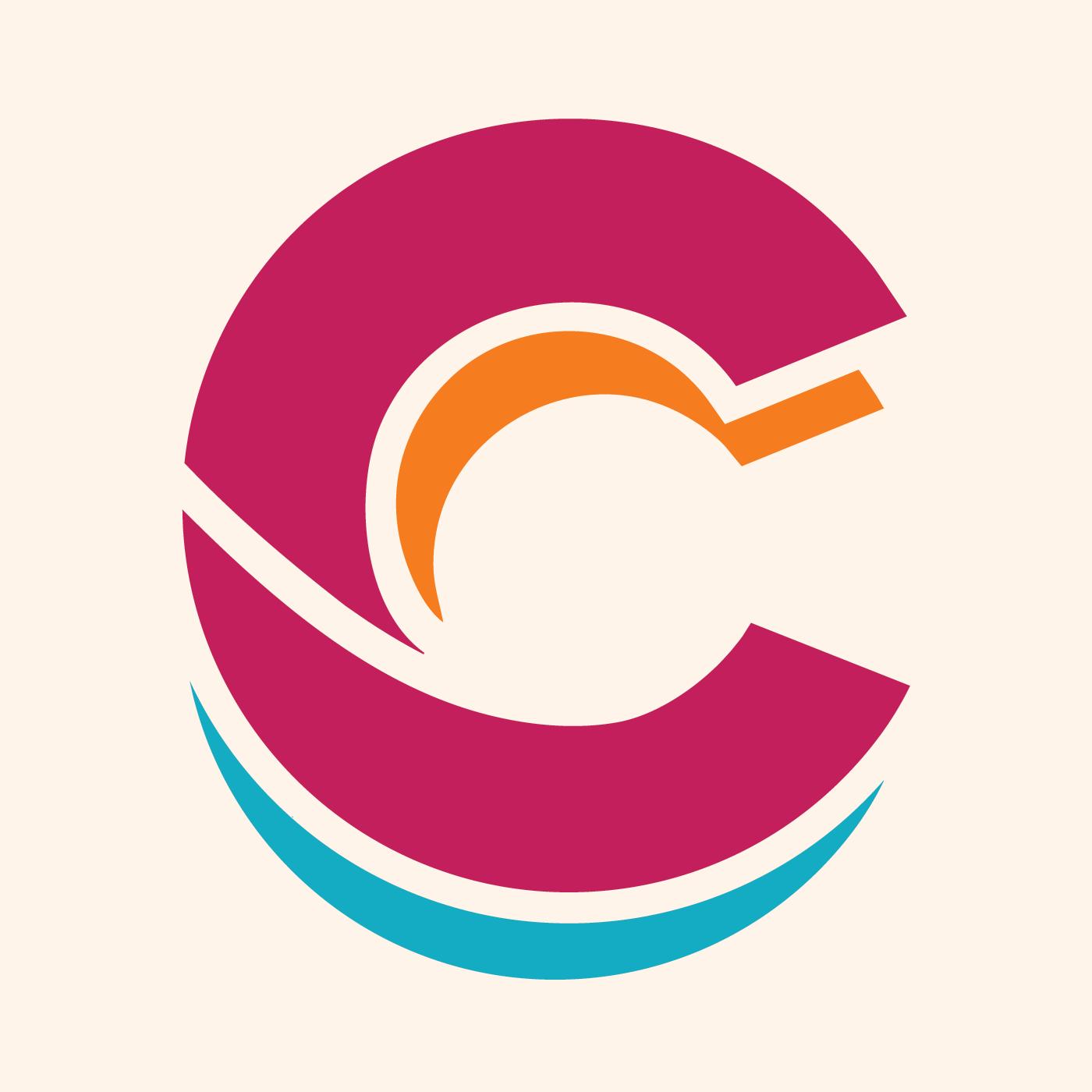 Letra C estilo vintage - Descargar Vectores Gratis, Illustrator