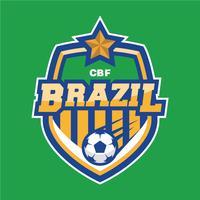 Patch de football brésilien