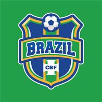 Patch de futebol brasileiro