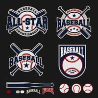 Baseball badge logo design For logo