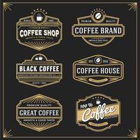 Set of vintage frame design for labels banner sticker and other