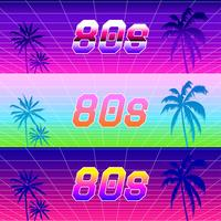 Vaporwave Gradients Vector