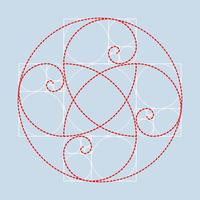 Vecteur d'illustration Golden Ratio