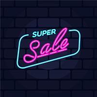 Neon Verkauf