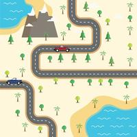 Mapa vial