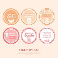 Vector Bakery Badges