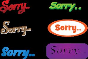 6 Sorry vectors