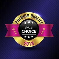 Badge di qualità Premium