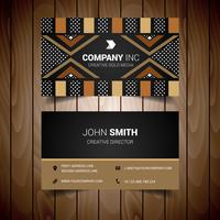 Ethnic Elegant Business Card