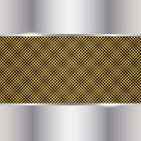 Gold And Silver Metal Background vector