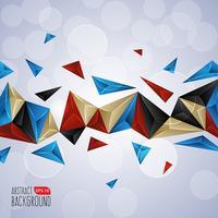 Texture abstraite avec des triangles