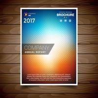 Höst Blur Broschyr Design Mall