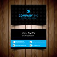 Blue Creative And Clean Business Card