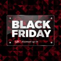 Black Friday sur verre