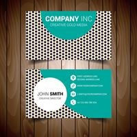 Dotted Modern Business Card