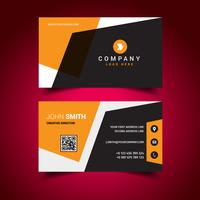 Orange Elegant Business Card