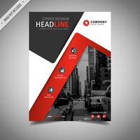 Red Modern Creative Brochure vector