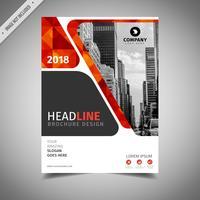 Geometrisk broschyrdesign