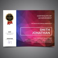 Colorfull Cool Diploma Template
