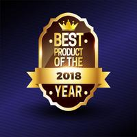 Brown Crown Best Product Badge