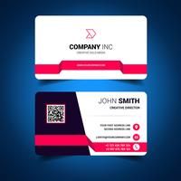 Pink Light Business Card