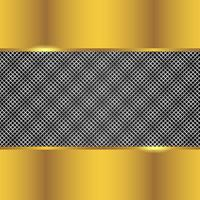 Silver And Gold Background vector