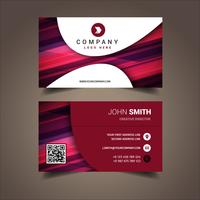 Colored Elegant Business Card