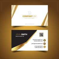 Golden Elegant Business Card