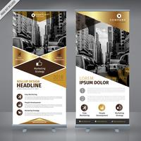 Golden Triangle RollUp vector