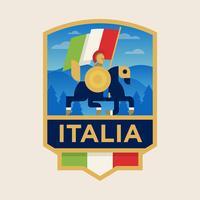 Insignias de fútbol de la Copa Mundial de Italia