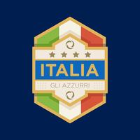 Italy World Cup Soccer Badges