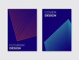Futurism Cover Template vector