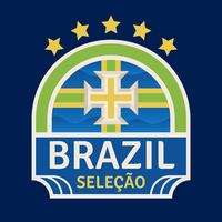 Brazil World Cup Soccer Badges