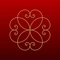 Golden Ratio Decorative Vector