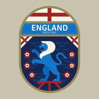 Badge de football de coupe du monde de l'Angleterre