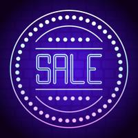 Unique Neon Sale Vectors