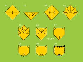 Awesome Origami Animal Vectors