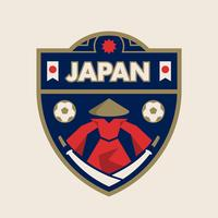 Japan World Cup Soccer Badges