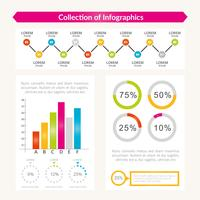 Vector speciale Infographics-collectie