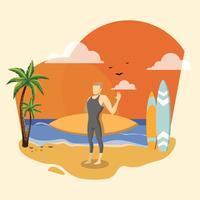 Vago de playa