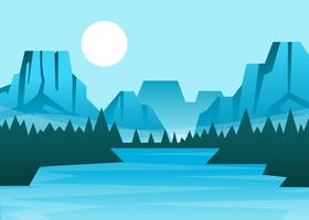 Yosemite National Park Illustratie