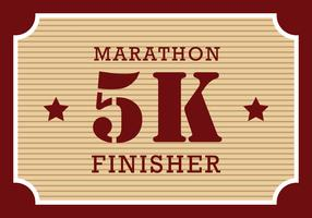 Finisher 5K