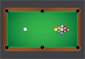 9 Ball-Billard-Vektor