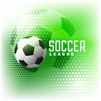soccer halftone sports abstract background