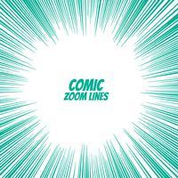 comic speed zoom lines background