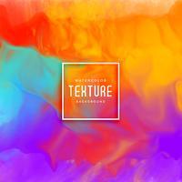 Fondo de textura de acuarela colorido impresionante