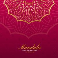 luxury background with mandala art
