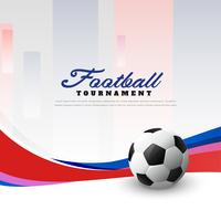 football championship soccer background with wave
